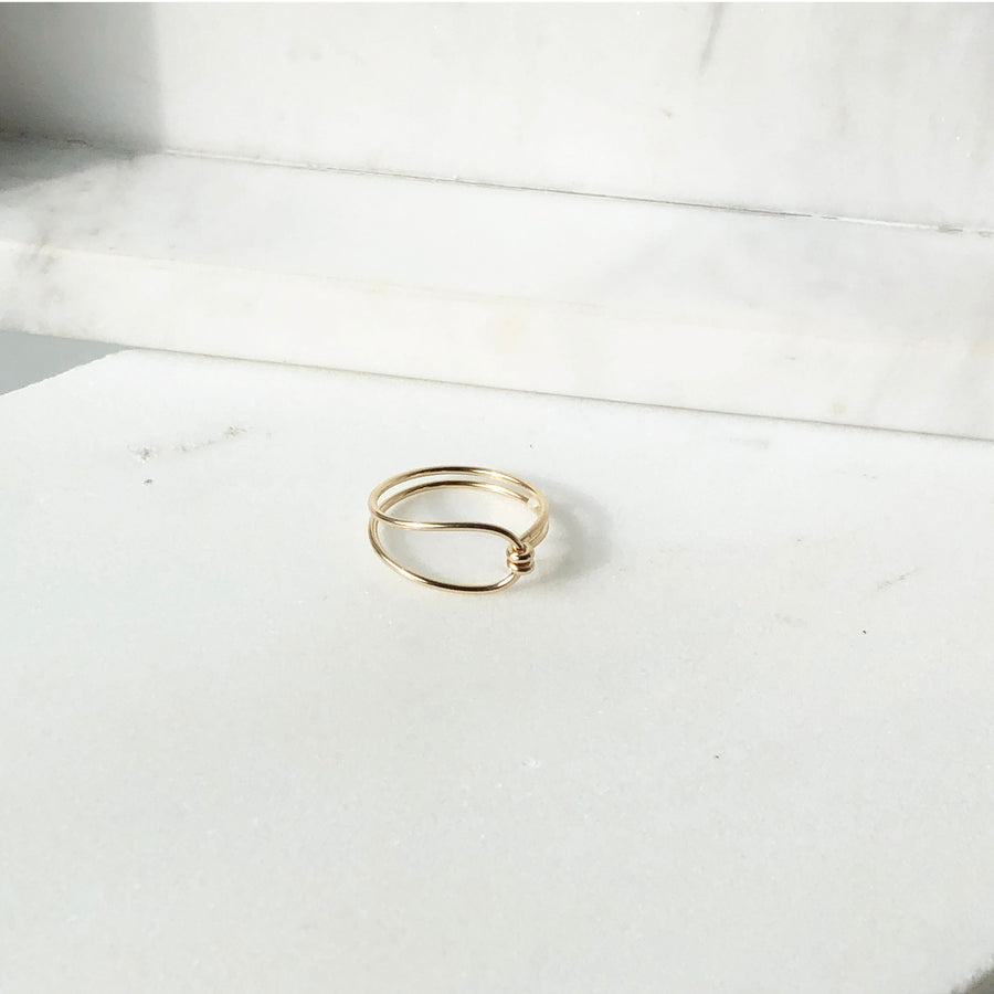 Barrel Ring - Token Jewelry Designs