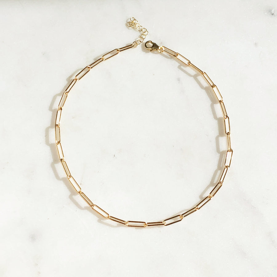 Chain Link Choker - Token Jewelry