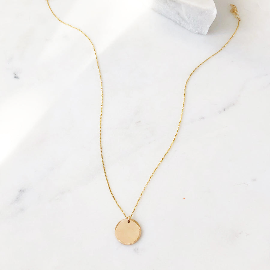 Coin Necklace - Token Jewelry