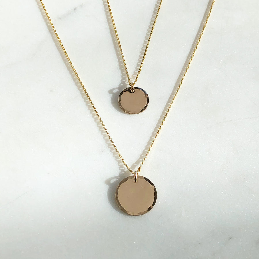 Mini Coin Necklace - Token Jewelry Designs