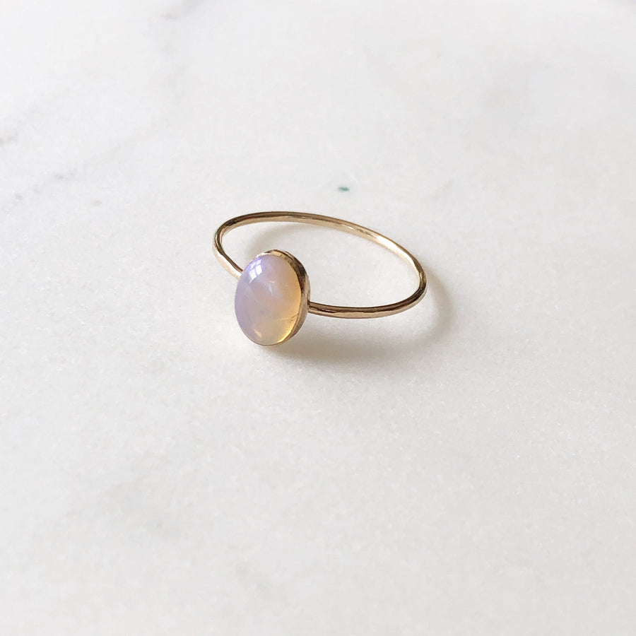 Iris Opal Ring - Token Jewelry Designs