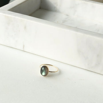 Labradorite Ring - Token Jewelry