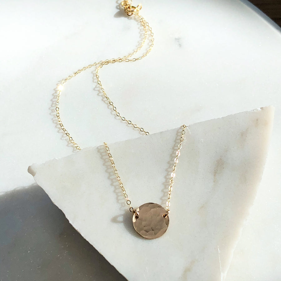 Mini Moon Necklace - Token Jewelry Designs