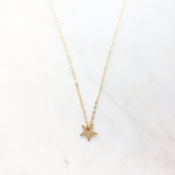Mini Star Necklace - Token Jewelry Designs