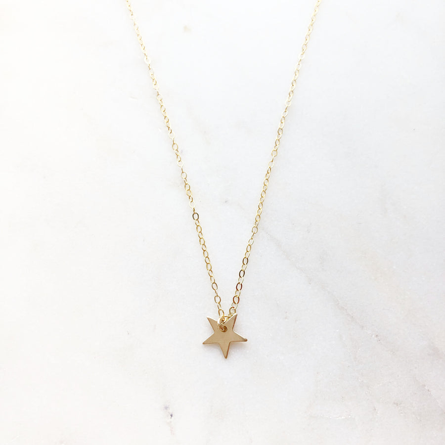 Mini Star Necklace - Token Jewelry
