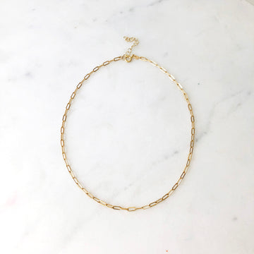 Narrow Links Choker - Token Jewelry