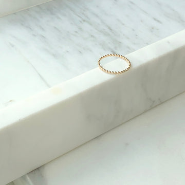 Midi Sequin Ring - Token Jewelry
