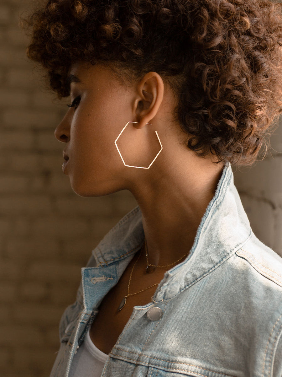 Honey Hoops - Token Jewelry Designs
