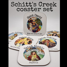 Load image into Gallery viewer, Schitt's Creek Saint coasters