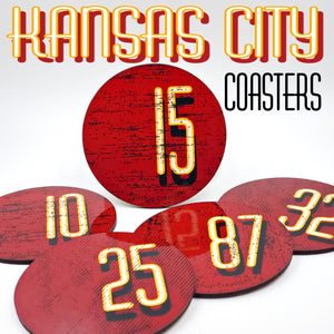 Kansas City Kingdom coaster set