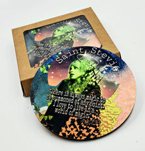 "Load image into Gallery viewer, Stevie Nicks ""World of magic"" coaster set"