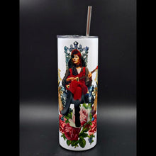 Load image into Gallery viewer, David Bowie Throne Drink Tumbler