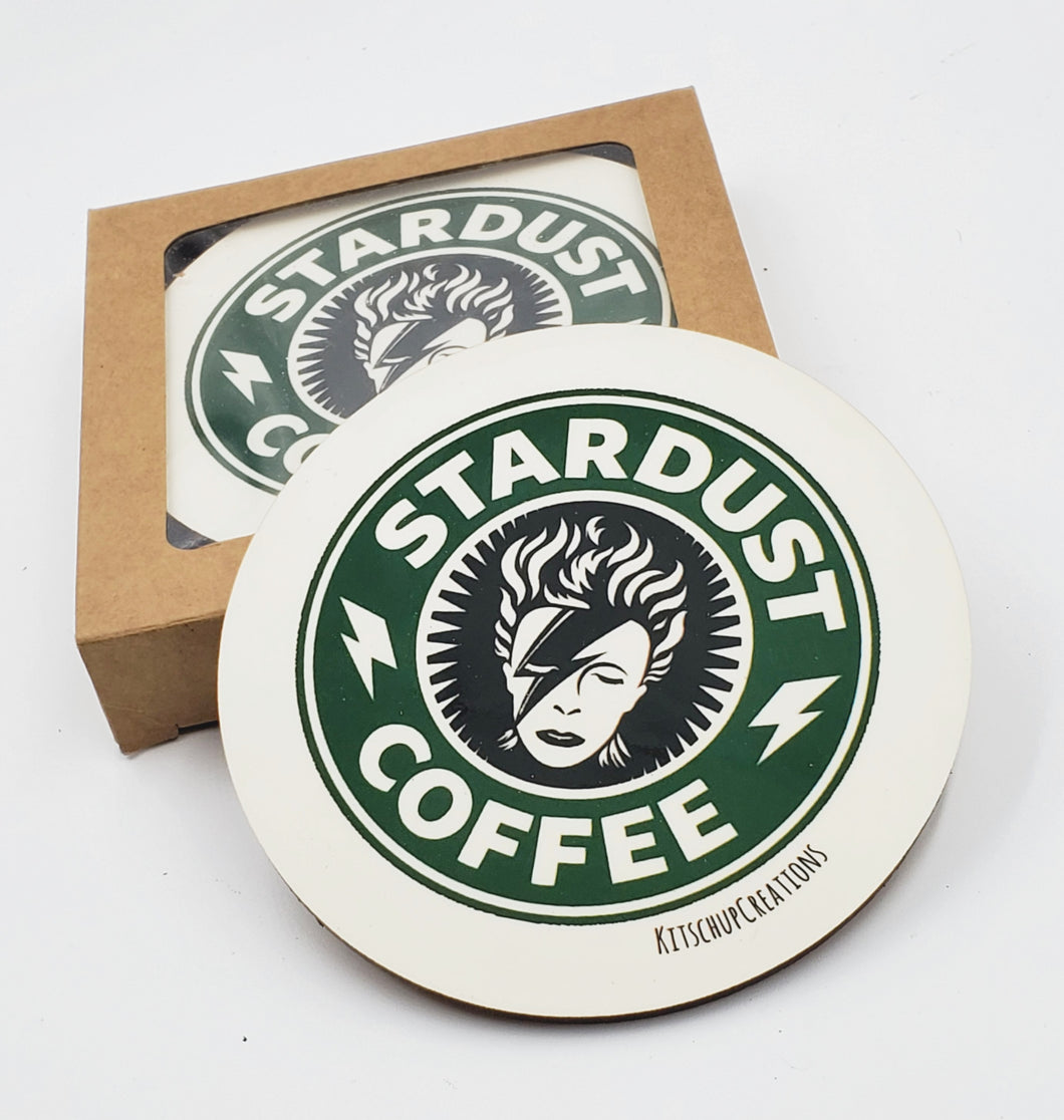 Ziggy Stardust Coffee coaster set