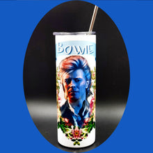 Load image into Gallery viewer, Bowie Blue Jean Drink Tumbler