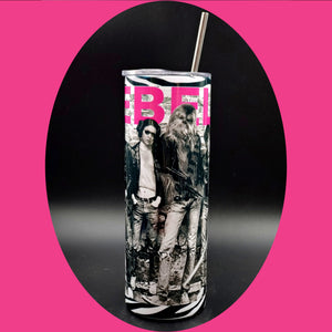 Leia is a punk rocker ! Drink Tumbler