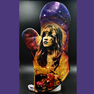 Stevie Nicks oven mitt
