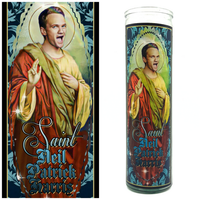 Neil Patrick Harris Prayer Candle - Kitschup Creations