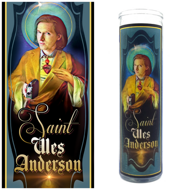 Wes Anderson Prayer Candle - Kitschup Creations
