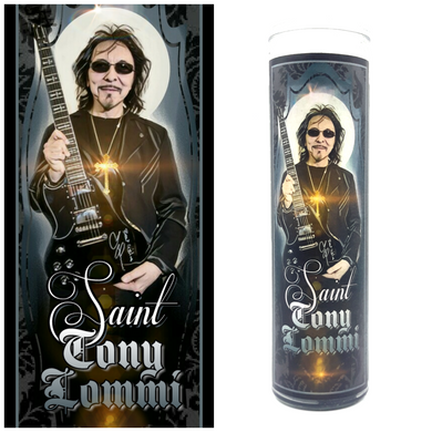 Tony Lommi Prayer Candle - Kitschup Creations