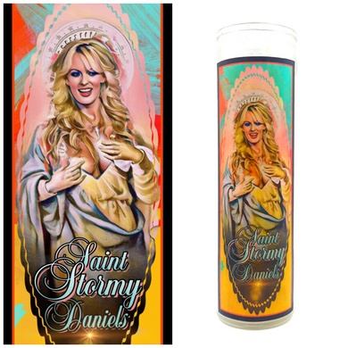 Stormy Daniels Prayer Candle
