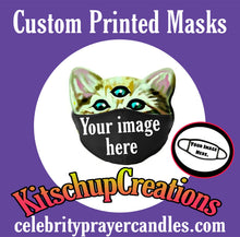 Load image into Gallery viewer, Custom personalized face masks