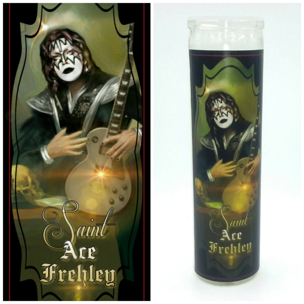 Celebrity Prayer Candles - Kitschup Creations