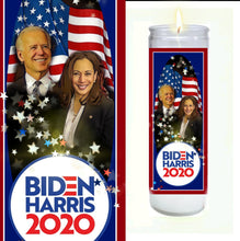 Load image into Gallery viewer, Biden Harris 2020 Prayer Candle
