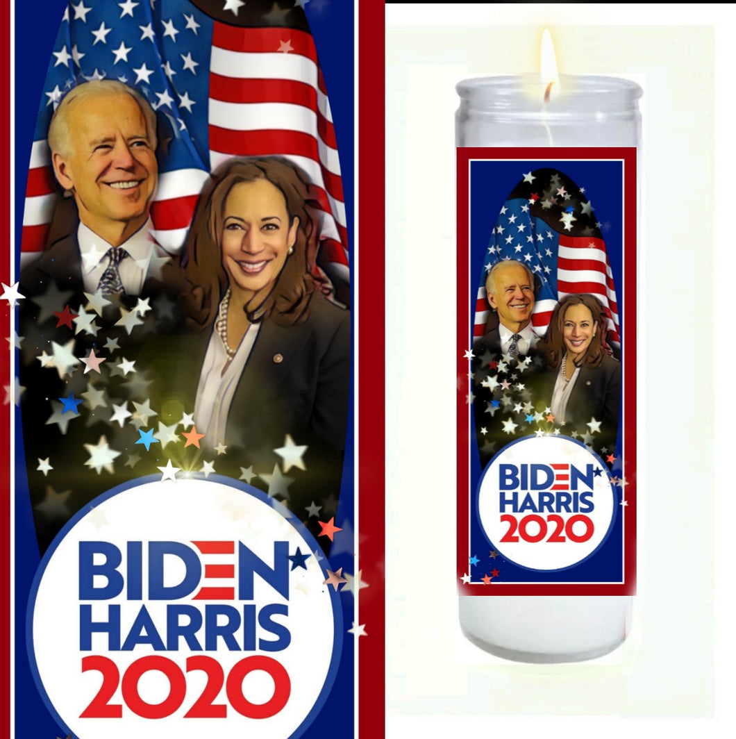Biden Harris 2020 Prayer Candle
