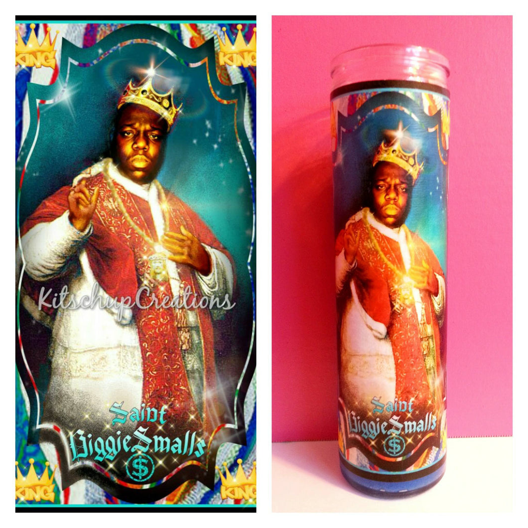 Biggie Prayer Candle - Kitschup Creations