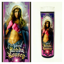 Ronda Rousey Prayer Candle - Kitschup Creations