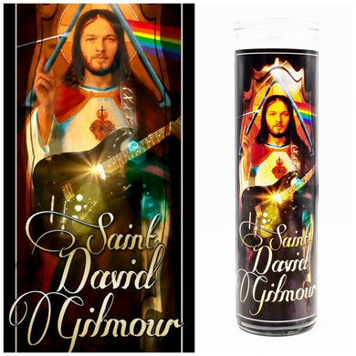 David Gilmour Prayer Candle