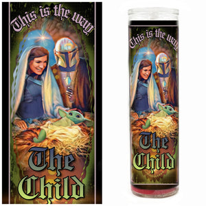 Baby Yoda / The Child Prayer Candle