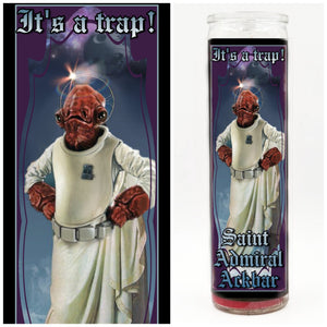 Admiral Ackbar/Its a trap Prayer Candle