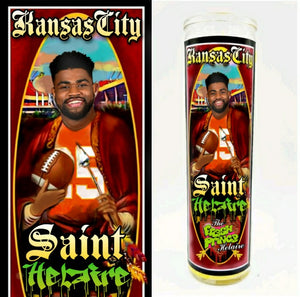 Saint Helaire Prayer Candle