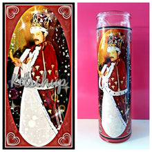 Freddy Mercury Prayer Candle - Kitschup Creations