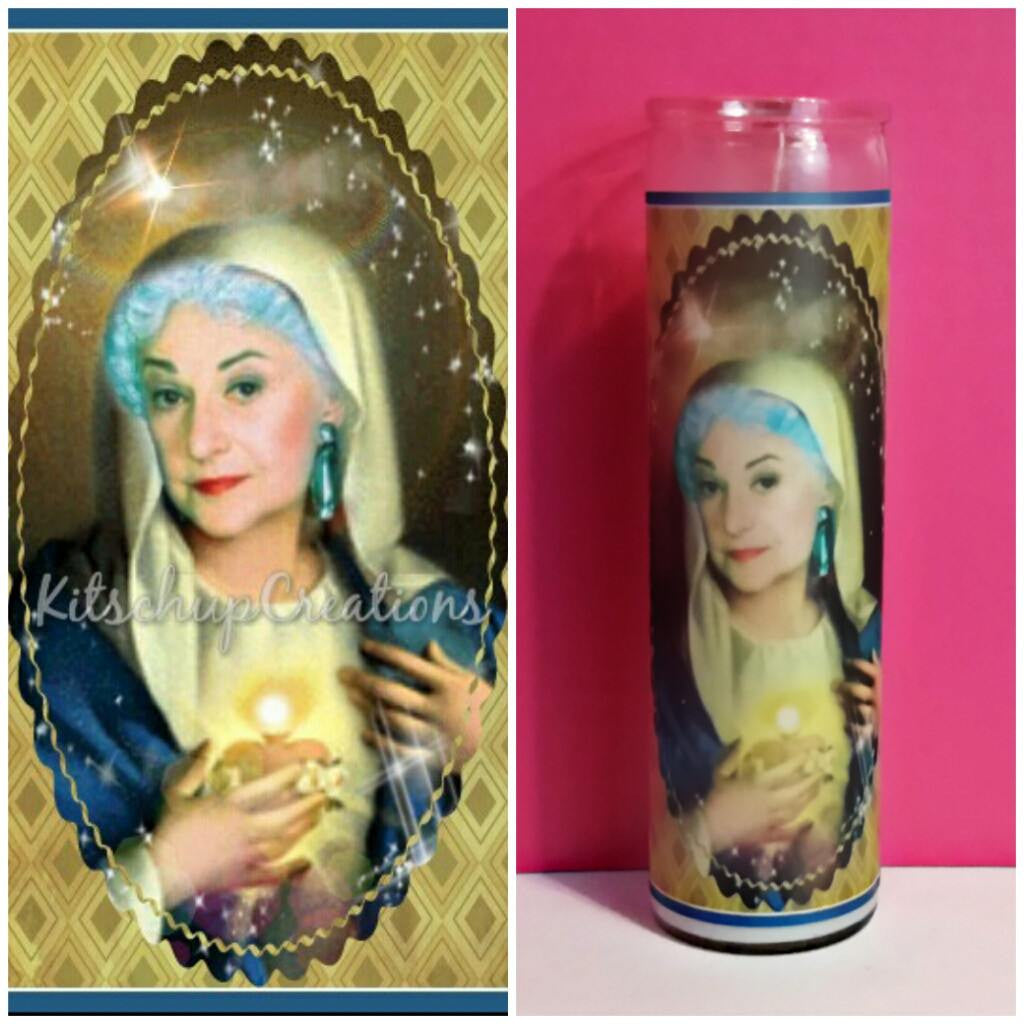 Golden Girls Dorothy Prayer Candle - Kitschup Creations