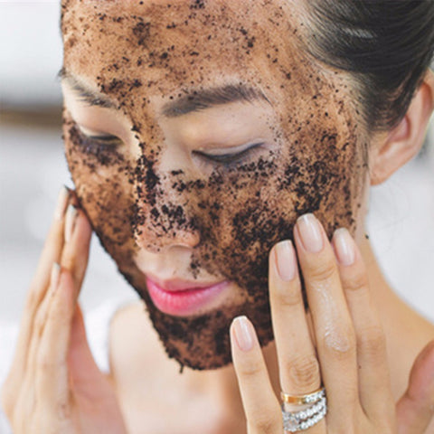 Face Scrub Coffee