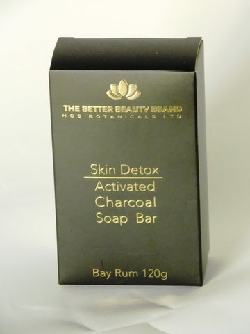 Activated Charcoal Detox Soap Bay Rum