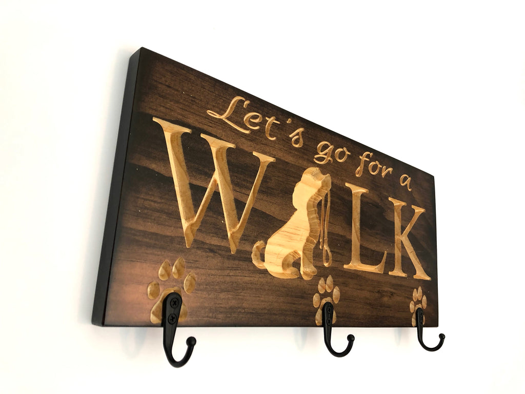 Dog Walk or Ride Sign