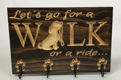 Carved Wooden Sign - Dog Lover Sign - Sign with Saying - Engraved Sign - Dog Owner Sign - Wooden Plaque - Dog Walker - Leash Holder