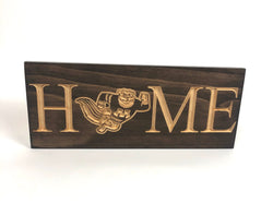Minnesota Golden Gophers - Home Sign  - Carved Wood Sign - Rustic Sign - Engraved Sign - Room Sign - Wall Sign - College Sign - Sports Sign