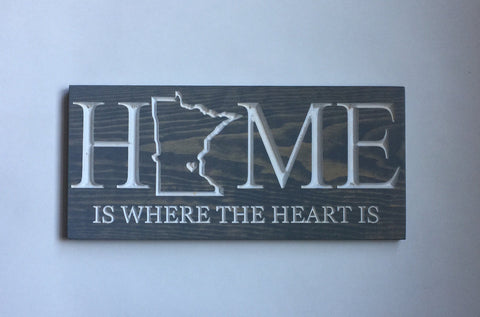 Personalized Sign for Home - Custom Sign - Wooden Signs With Sayings - Custom Made Sign - Wall Sign - Custom Wood Sign - State Home Sign