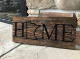 Minnesota Home-MN Carved Wooden Signs
