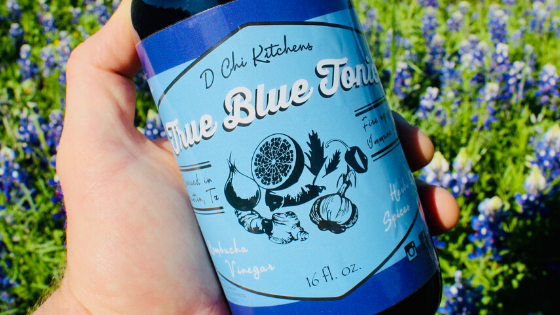 A Message from D Chi Kitchens: Arm Your Immune System with True Blue Tonic