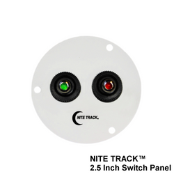 "NITE TRACK 2.5"" Illuminated Switch Panel (Round)"