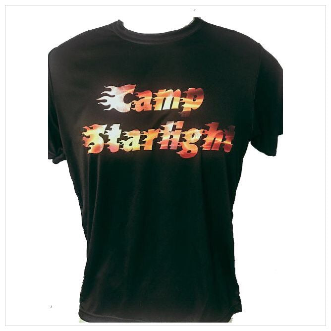 Custom Camp Flames T-shirt - The Canteen