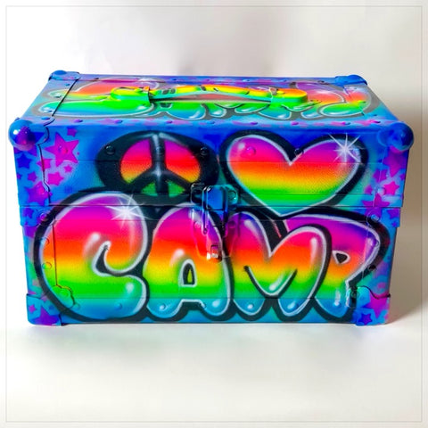 Airbrushed Crazy Creek Camp Chair