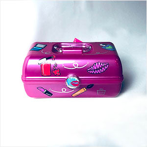 Personalized Caboodle - make up theme- The Canteen