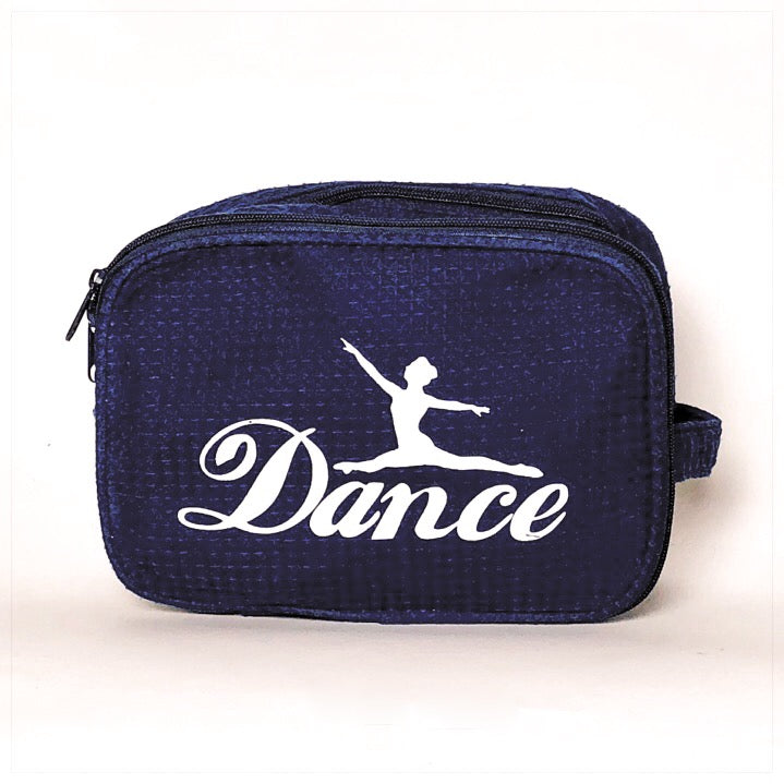 Pesronalized Cosmetic Bag Navy Dance- The Canteen