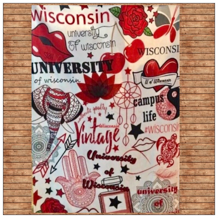 Custom Spirit Blanket - The Canteen - Wisconsin